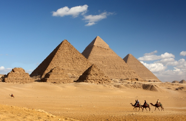 pyraminds of egypt